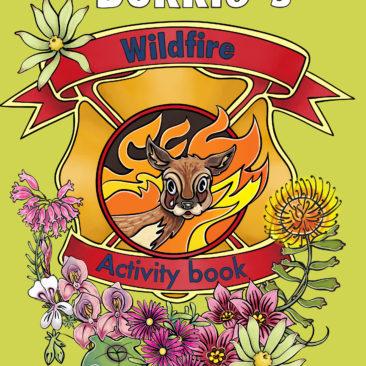 Bokkie's Wildfire Activity book