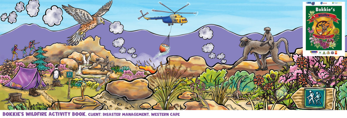 Bokkie's wildfire activity book